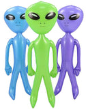6 FOOT ALIEN INFLATABLE 72 INCH  (Sold by the piece or dozen)