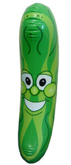 GIANT SIZE INFLATABLE 34 IN GREEN PICKLE ( sold by the piece or dozen )