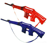 ASSORTED COLOR INFLATABLE 34 inch MACHINE GUN ( sold by the dozen ) CLOSEOUT NOW ONLY $1 EA