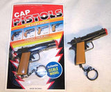 DIECAST 45 MAG KEY CHAIN CAP GUN (Sold by the dozen)