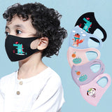 Assorted Kids Cartoon Animal Face Mask. Washable & reusable!