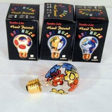 HAND PAINTED PICTURE ART LIGHT BULBS (Sold by the dozen)
