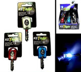 LIGHT UP SNAP ON KEY HOLDER  (Sold by the dozen)  - * CLOSEOUT NOW ONLY 50 CENTS EA