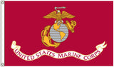 USMC MARINES CORP 2' X 3' FLAG (Sold by the piece)
