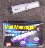 MINI PERSONAL PIN POINT BODY MASSAGER  (Sold by the piece or dozen) -* CLOSEOUT ONLY .75 CENTS