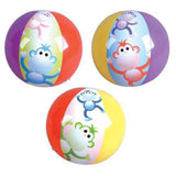 MONKEY INFLATABLE 12 INCH BEACH BALLS ( sold by the dozen ) CLOSEOUT NOW ONLY 75 CENTS