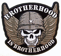 BROTHERHOOD SKULL PATCH (Sold by the piece)
