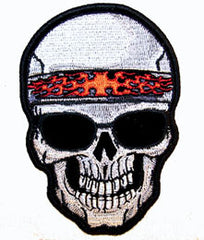 SKULL WITH SHADES PATCH (Sold by the piece)