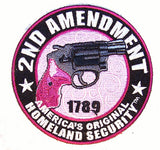 2nd AMENDMENT PISTOL PATCH  (Sold by the piece)