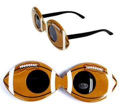 FOOTBALL PARTY GLASSES (Sold by the piece or dozen )