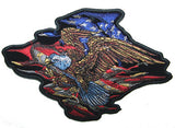 AMERICAN FLYING EAGLE EMBROIDERED PATCH  (sold by the piece )