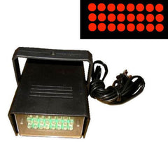 SQUARE LED RED STROBE LIGHT (Sold by the piece) CLOSEOUT 7.50 EA
