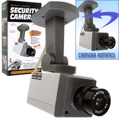 FAKE VIDEO MOTION ACTIVATED DUMMY CAMERA (Sold by the piece) -* CLOSEOUT NOW ONLY $3 EA