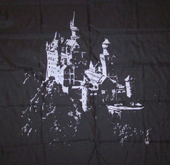 MIDEVIL CASTLE CLOTH 45 INCH WALL BANNER / FLAG (Sold by the piece) *- CLOSEOUT $ 1.95 EA