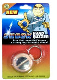 SHOCKING ROUND HAND BUZZER - SHOCK JOKE (Sold by the piece)