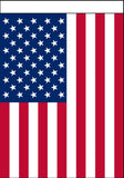 "USA AMERICAN POLY-- 28"" X 40"" GARDEN HANGING  FLAG ( sold by the piece )"