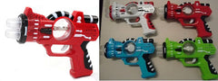 LIGHT UP COSMIC BLASTER SPIN BALL PISTOL ( sold by the piece or dozen )