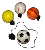SPORTS RETURN TO YOU BALLS  (Sold by the dozen) $ CLOSEOUT $ 1 EACH