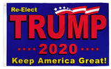 DONALD TRUMP 2020 KEEP AMERICA GREAT 3 X 5 AMERICAN FLAG ( sold by the piece )
