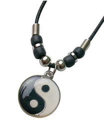 YIN YANG ROPE NECKLACES (Sold by the piece or dozen)
