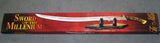 CLOSEOUT LOR 39 INCH MILLENIUM SWORD SWORD WITH CASE  (Sold by the piece) CLOSEOUT NOW $15.00 EA