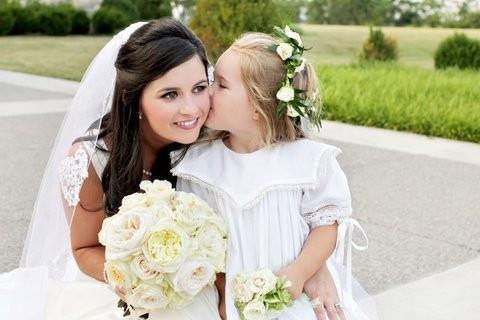A Floral Crown and Garlic for your Flower Girl?