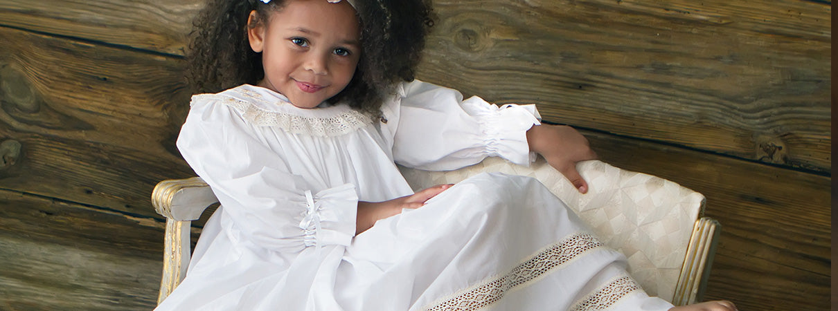 8f0f6ad2924 Girls Heirloom dress Lace   Smocked Southern Dresses Boys Heirloom