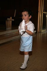 ring bearer with shorts