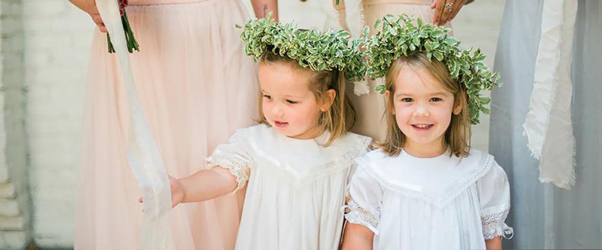 Flower girl dresses heirloom southern wedding