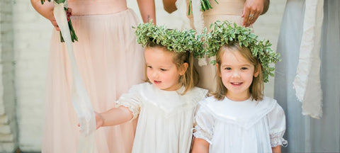 Flower Girls and Bridesmaid traditions