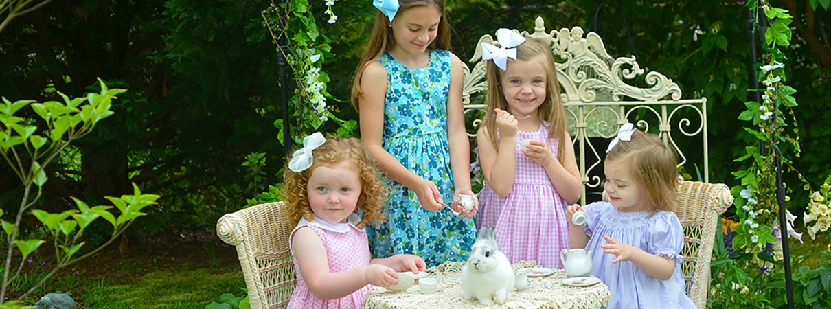 knee length summer dresses for little girls