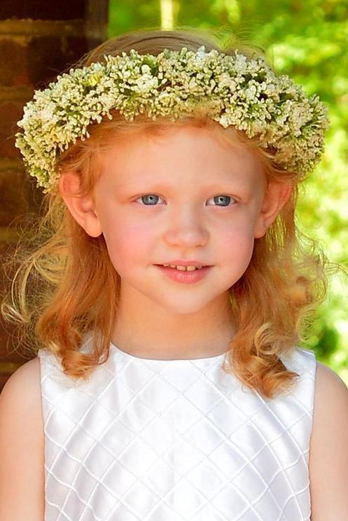 Baby's Breath Crown Headband Strasburg Children