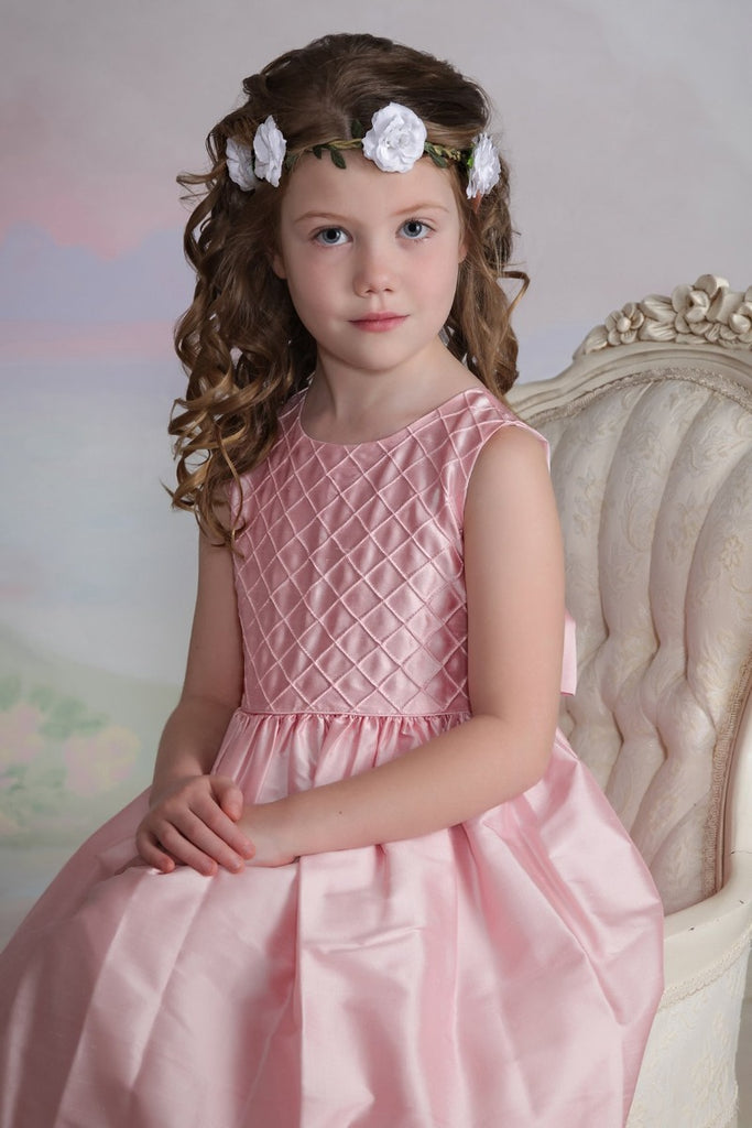 Lulu- Pink Dress Strasburg Children