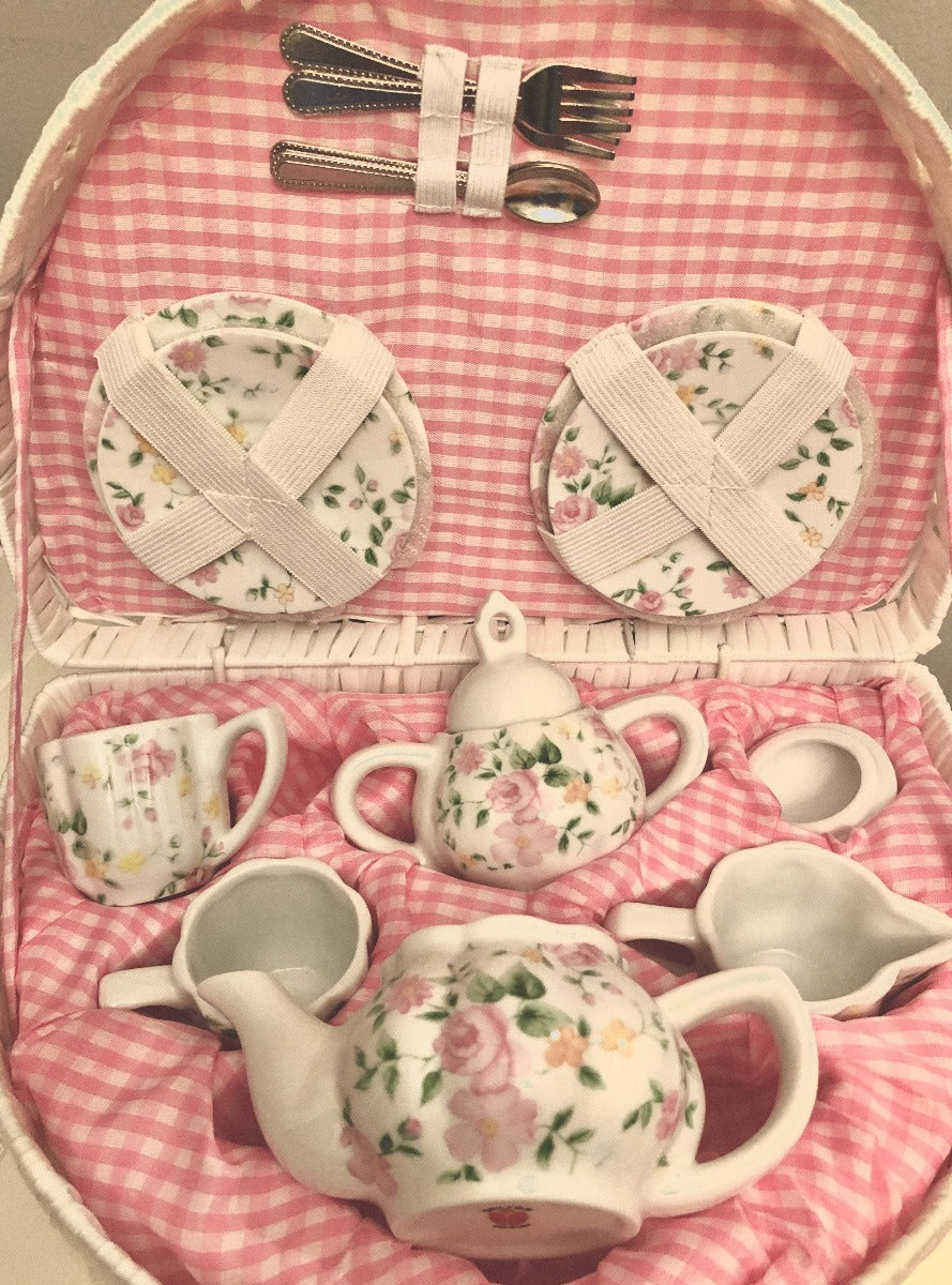 Pink Floral Tea Set Strasburg Children