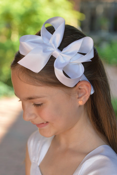 Satin Bow Headband Strasburg Children