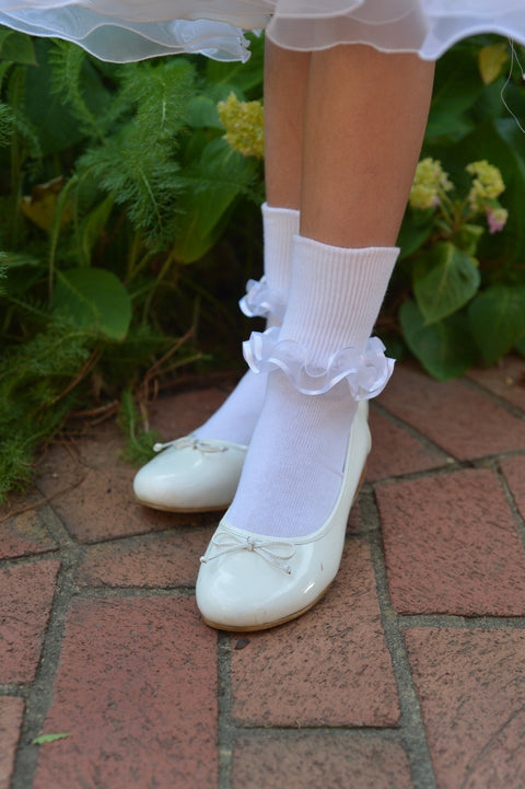 Satin Lace Socks Strasburg Children
