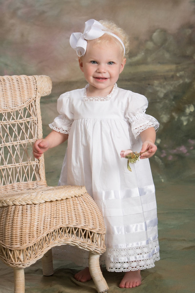 Virginia - Toddler Baptism Dress Strasburg Children