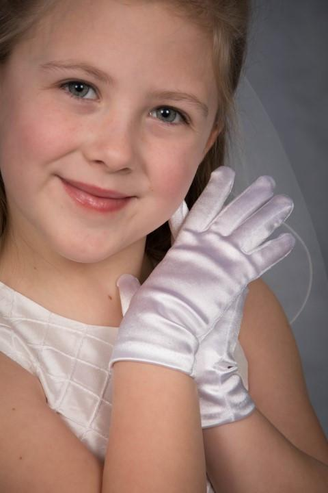 White Satin Gloves Strasburg Children