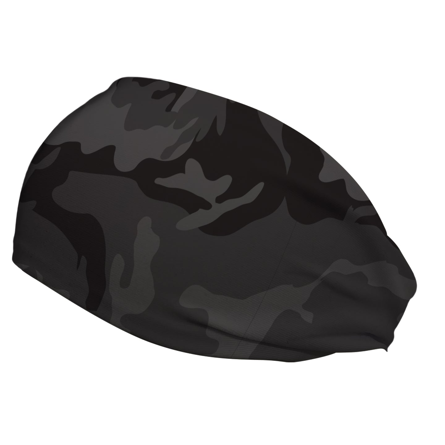 Grey Camo Hiji®Band Concussion Headband for Sports