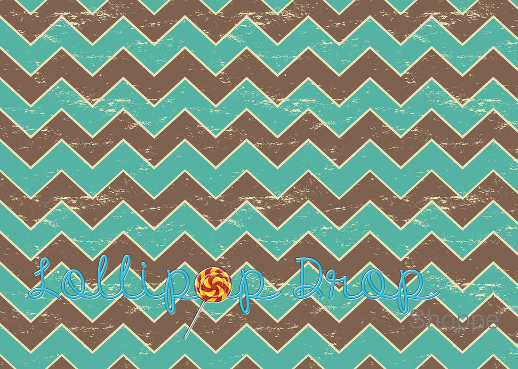 Jungle Chevron - Backdrop Shop