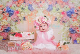 Floral Curtains - Backdrop Shop