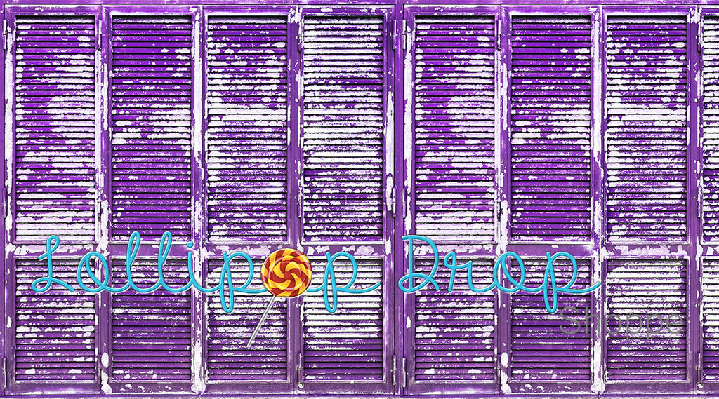 Amethyst Shutters - Backdrop Shop