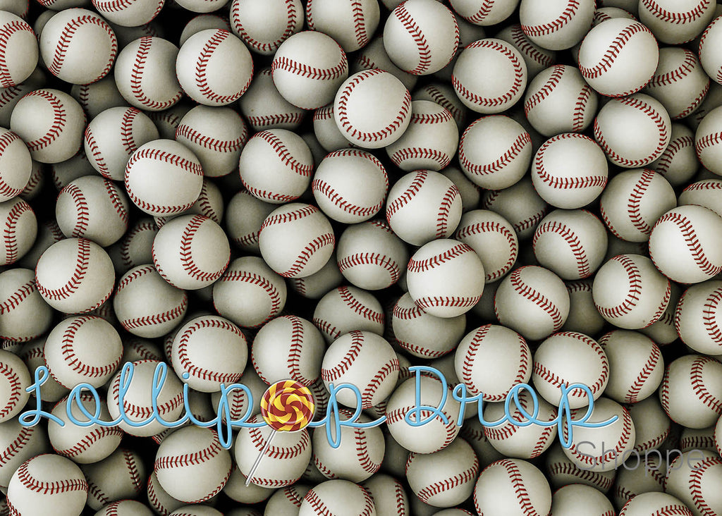 Baseballs - Backdrop Shop