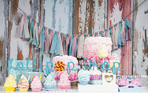 Birthday Sweets - Backdrop Shop