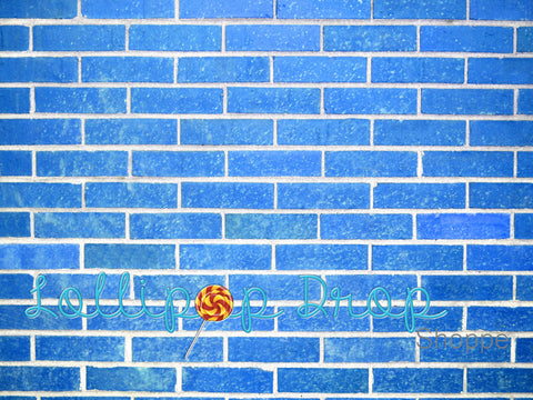 Blue Brick - Backdrop Shop