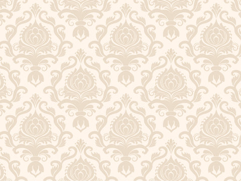 Country Cream Damask - Backdrop Shop