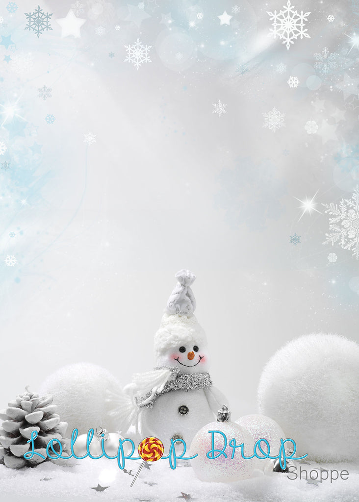 Do you want to build a snowman - Backdrop Shop