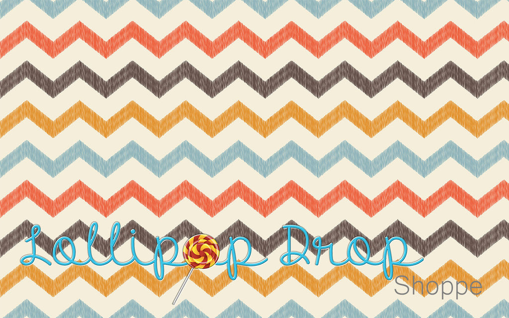 Faded Chevron - Backdrop Shop