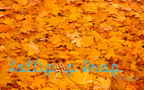 Fallen Leaves - Backdrop Shop