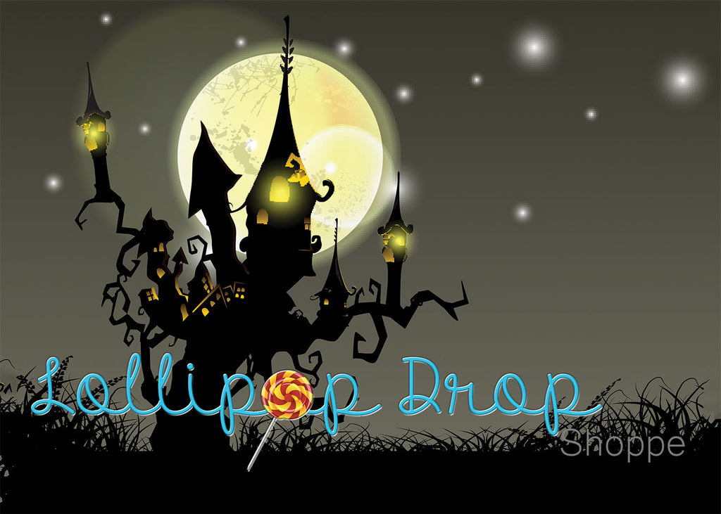 Haunted Silhouette - Backdrop Shop